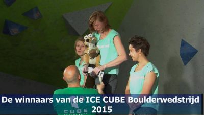 2015 ICE CUBES Podium Dames M Crop