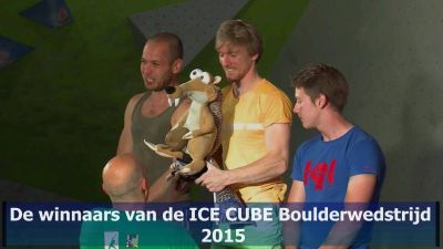 2015 ICE CUBES Podium heren M Crop